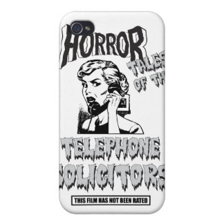 Funny Vintage Horror Movie iPhone 4/4S Covers