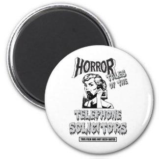 Funny Vintage Horror Movie Magnet