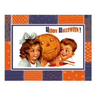 Funny Vintage Kids Halloween Postcards