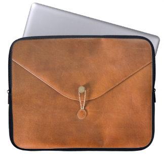 Funny vintage leather bag
