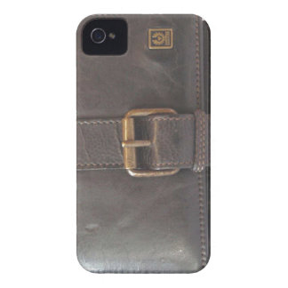 Funny vintage leather wallet Case-Mate iPhone 4 cases