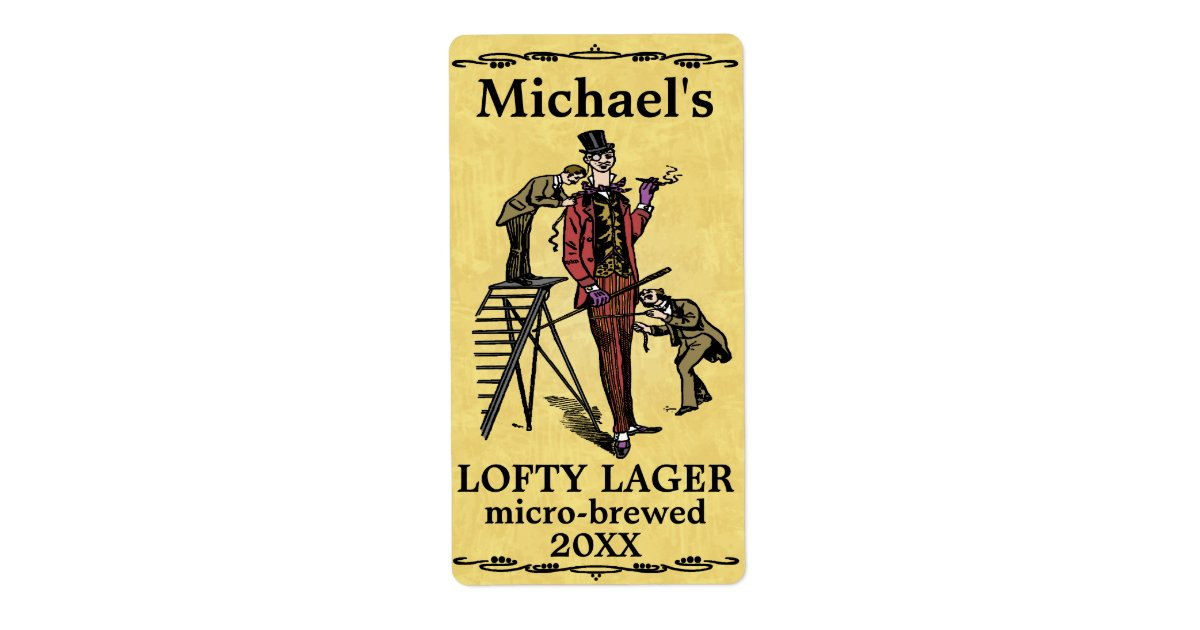 This is an image of Versatile Funny Beer Warning Labels