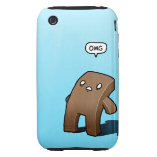Funny Vintage OMG iPhone 3 Tough Case