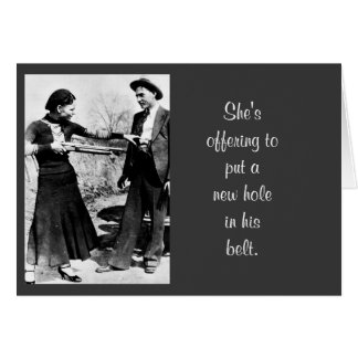 Funny Vintage Photo Weight Control Birthday Humor Card