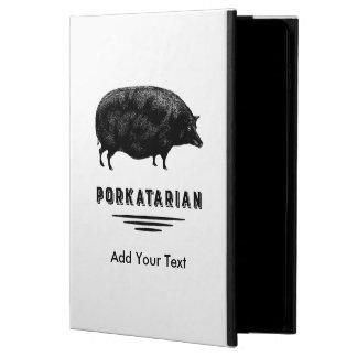 Funny Vintage Pig Bacon Lover Humor Powis iPad Air 2 Case
