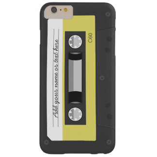 Funny Vintage Retro Music Cassette Tape Barely There iPhone 6 Plus Case