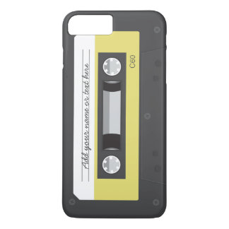 Funny Vintage Retro Music Cassette Tape iPhone 8 Plus/7 Plus Case