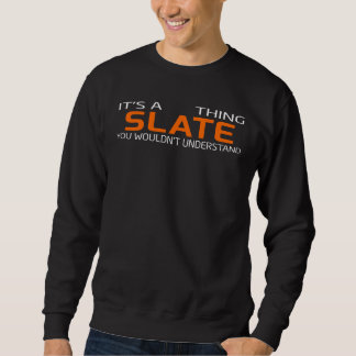 Funny Vintage Style T-Shirt for SLATE