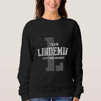 Funny Vintage Style TShirt for LINDEMAN