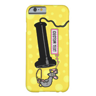 Funny Vintage Telephone Retro Mouse Novelty Custom Barely There iPhone 6 Case