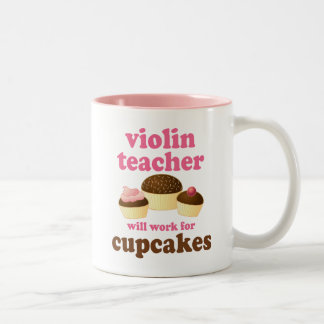 Funny Violin Teacher Mug