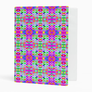 funny vivid pattern 9 (C) Mini Binder
