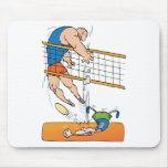 Funny Volleyball Gift Mousepad