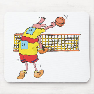Funny Volleyball Gift Mouse Mat