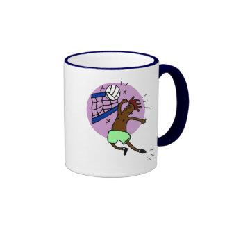 Funny Volleyball Gift Mug