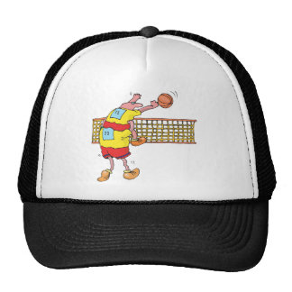 Funny Volleyball Trucker Hat