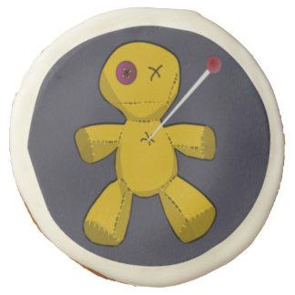 Funny Voodoo Doll Halloween Sugar Cookies