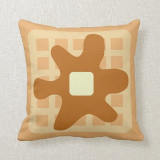 Funny Waffle Pillow