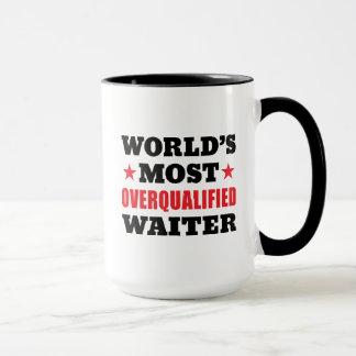 Funny Waiter Slogan Mug