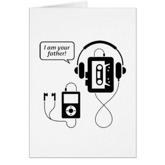 Funny Walkman Card