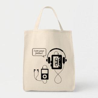 Funny Walkman Tote Bag