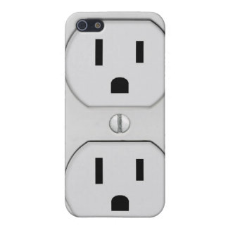 Funny Wall Socket Plug, G4 Case For iPhone SE/5/5s