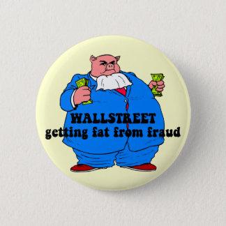Funny wallstreet button