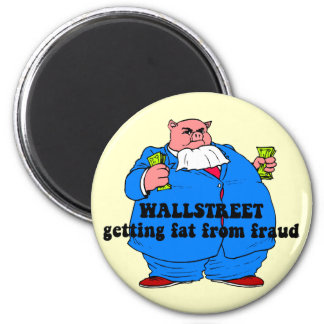 Funny wallstreet fridge magnets