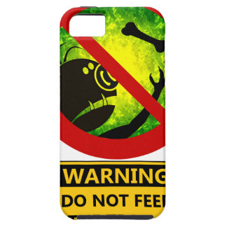 Funny Warning Do Not Feed The Trolls Sign iPhone SE/5/5s Case