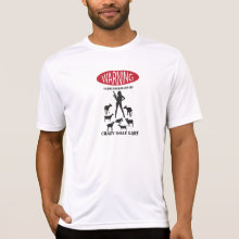 FUNNY Warning Farm Patrolled by Crazy Goat LAdy Tees