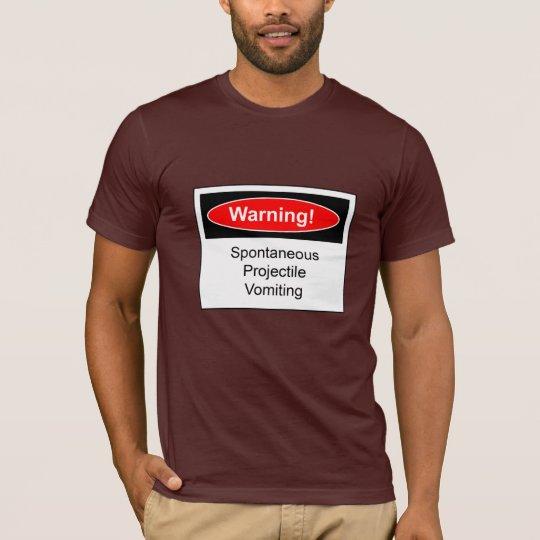 Funny Warning Label T-Shirt