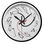 Funny Warped Clocks