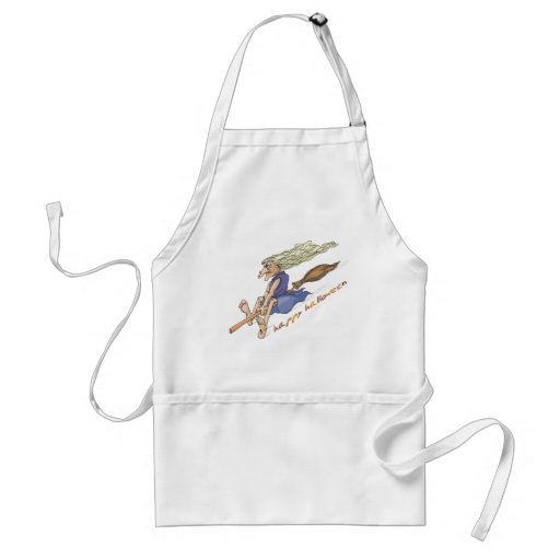 Funny Wart Witch Aprons