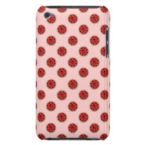 Funny Watermelon and Ladybugs Speck Case iPod Touch Case