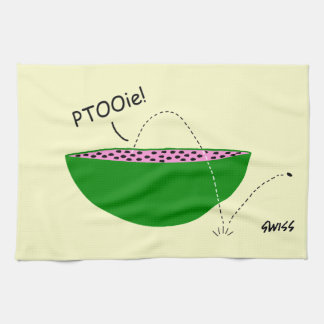Funny Watermelon Lover Kitchen Towel