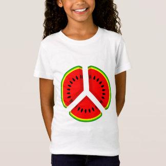Funny Watermelon Peace Bright Colours T-Shirt