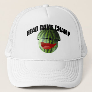 Funny Watermelon Picnic Head Game Champ Prize Hat