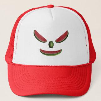 Funny Watermelons Emoticon Trucker Hat
