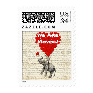 Funny we are moving home postage