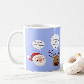 Funny We Wish You a Merry Christmas - Mug