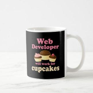 Funny Web Developer Classic White Coffee Mug