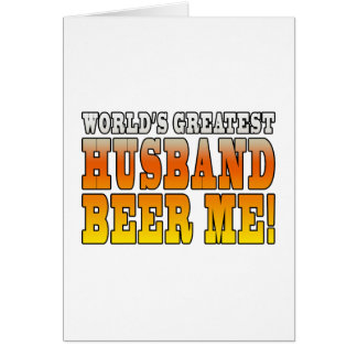 Funny Wedding Anniversary Worlds Greatest Husband Cards