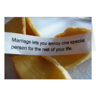 Funny Wedding Card