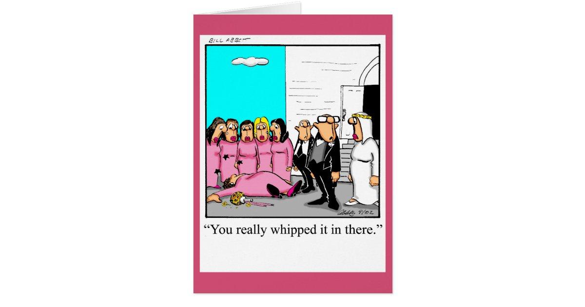 Funny Wedding Congratulation Greeting Card | Zazzle