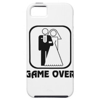 Funny wedding Game Over iPhone 5 Cases