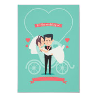 Funny Wedding Invitation Card