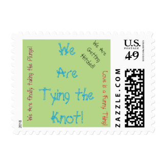 Funny Wedding Stamps