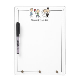 Funny Wedding To-Do List Dry Erase Board