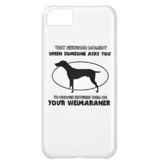 Funny weimaraner designs iPhone 5C covers
