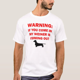 Funny Weiner Dog Joke T-Shirt